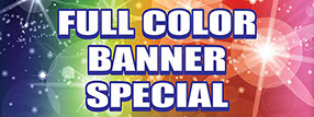 Full Color Banner Special Ad